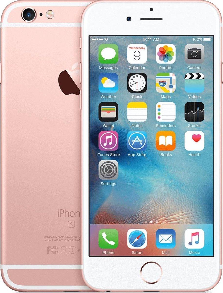 Apple iPhone 6s - Refurbished door Forza - A grade (Zo goed als nieuw) - 32GB - Rosegoud