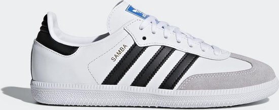 adidas Samba OG J Sneakers Kinderen - Ftwr White/Core Black/Crystal White