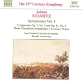 Stamitz: Symphonies Vol 1 / Armstrong, New Zealand CO