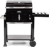 Boretti Carbone Houtskoolbarbecue - 57x42 - Zwart