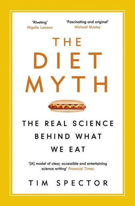 Boek cover The Diet Myth van Professor Tim Spector (Onbekend)