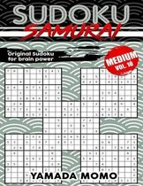 Sudoku Samurai Medium: Original Sudoku For Brain Power Vol. 10