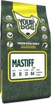 Yourdog mastiff hondenvoer pup 3 kg