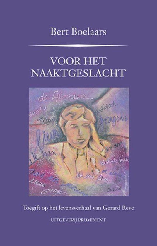 Prominent-reeks - Voor het naaktgeslacht - Bert Boelaars | Fthsonline.com