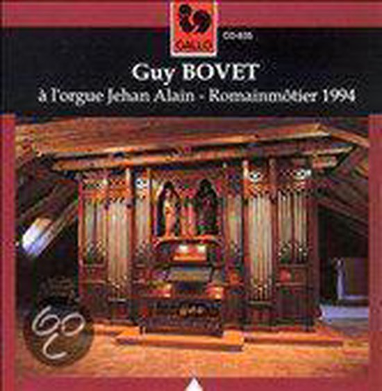 Guy Bovet à l'orgue Jehan Alain