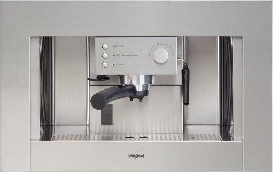 Whirlpool ACE 010 IX - Inbouw espressomachine