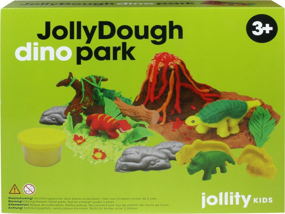 JollyDough Klei - Dino Park - dinosaurussen - speelset