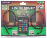 Trend Accessoires Led strip – RGB - TV Led – Usb - 2 x 50cm