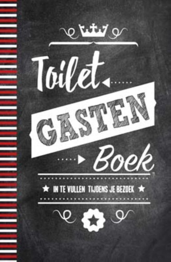 Boek cover Toiletgastenboek van nvt (Hardcover)