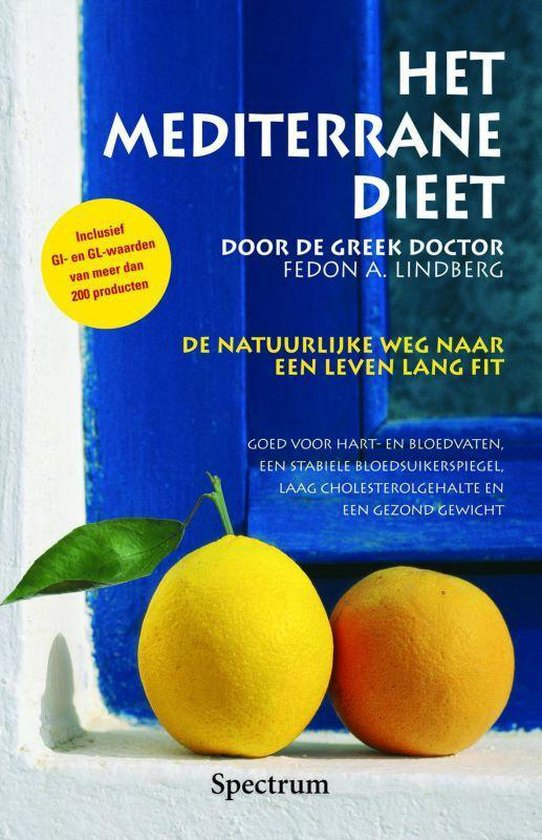Het Mediterrane Dieet - Fedon Alexander Lindberg |