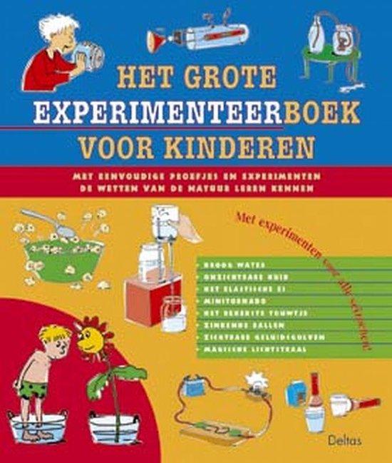 Het grote experimenteerboek voor kinderen - none |