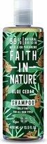 Faith In Nature Shampoo Blue Cedar For Men (400ml)