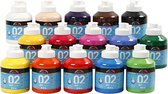 A-color acrylverf, 02 - matt, 15x500 ml