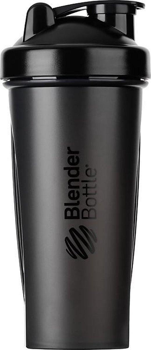 Blender Bottle - Shakebeker / Shaker - Zwart - 820ml