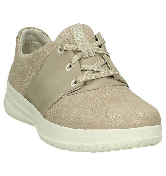 Fitflop - Sporty-pop X Sneaker Veterschoen Plat Dames Maat 39 Beige C96-407 -nude Pink gpfL7o