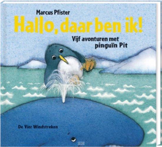 Boek cover Hallo, daar ben ik! van M Pfister (Hardcover)
