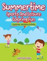 Summertime - Sports And Leisure Coloring Fun