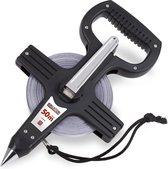 Kreator KRT702050 Metalen rolmeter - 50m
