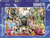 Ravensburger puzzel Disney Kerstmis op station - Legpuzzel - 1000 stukjes