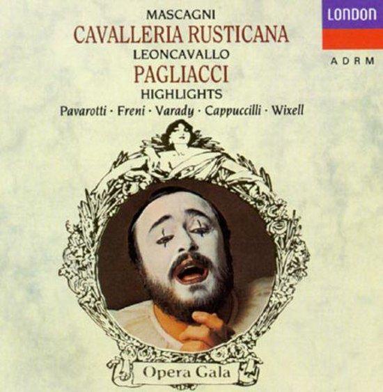 Pavarotti - Cavalleria Rusticana / Pagliacci