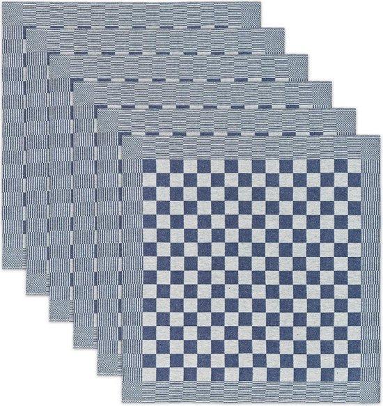 DDDDD Theedoek Barbeque Blue (6 stuks)