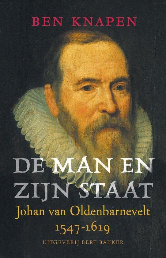 Cover van het boek 'De man en zijn staat' van Ben Knapen