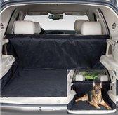 Premium Deluxe Hondendeken Autokoffer - Zwart - 145 x 145 cm
