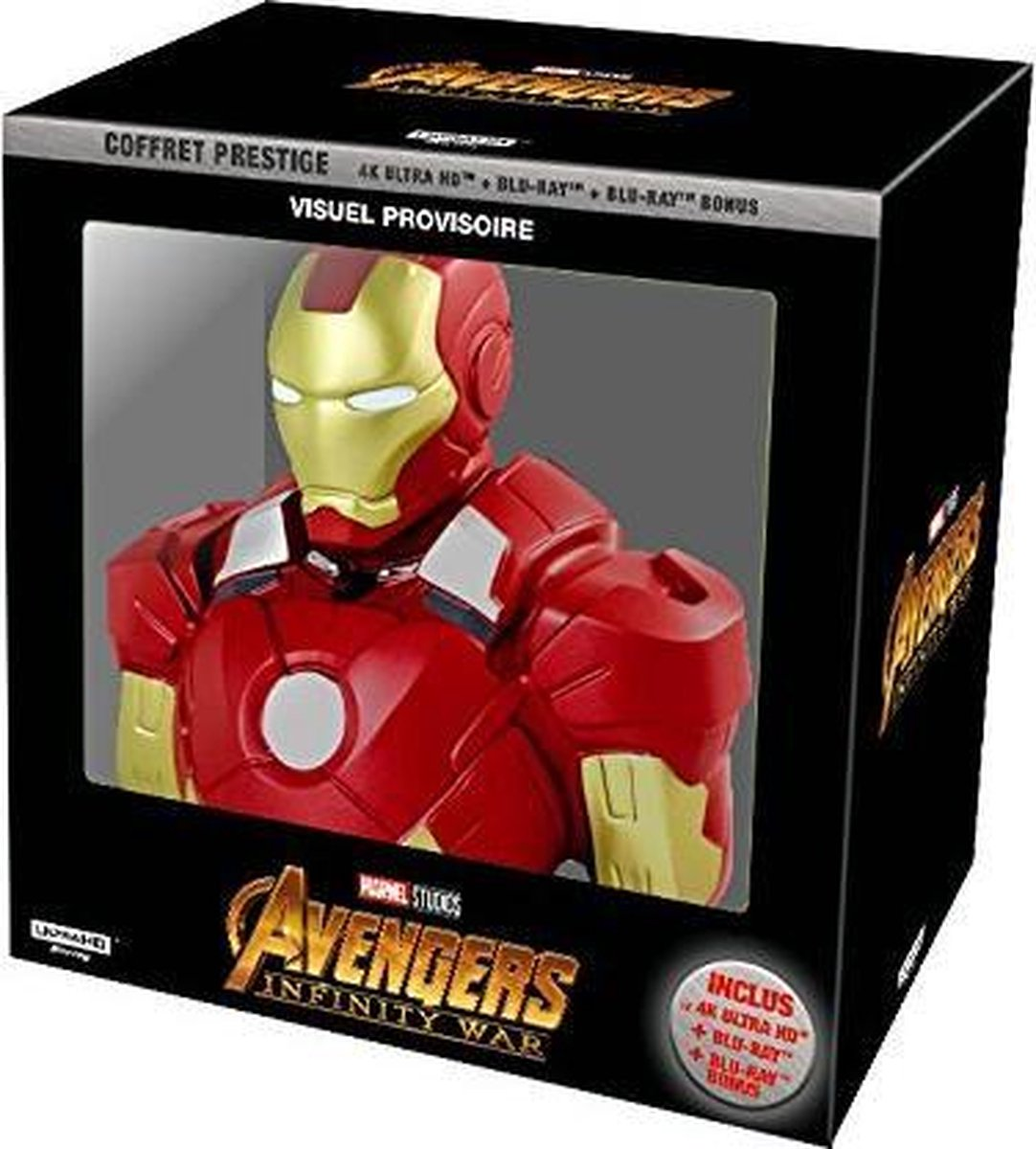 Avengers Infinity War 4K UHD + Blu-ray Collectors Edition (Import)-