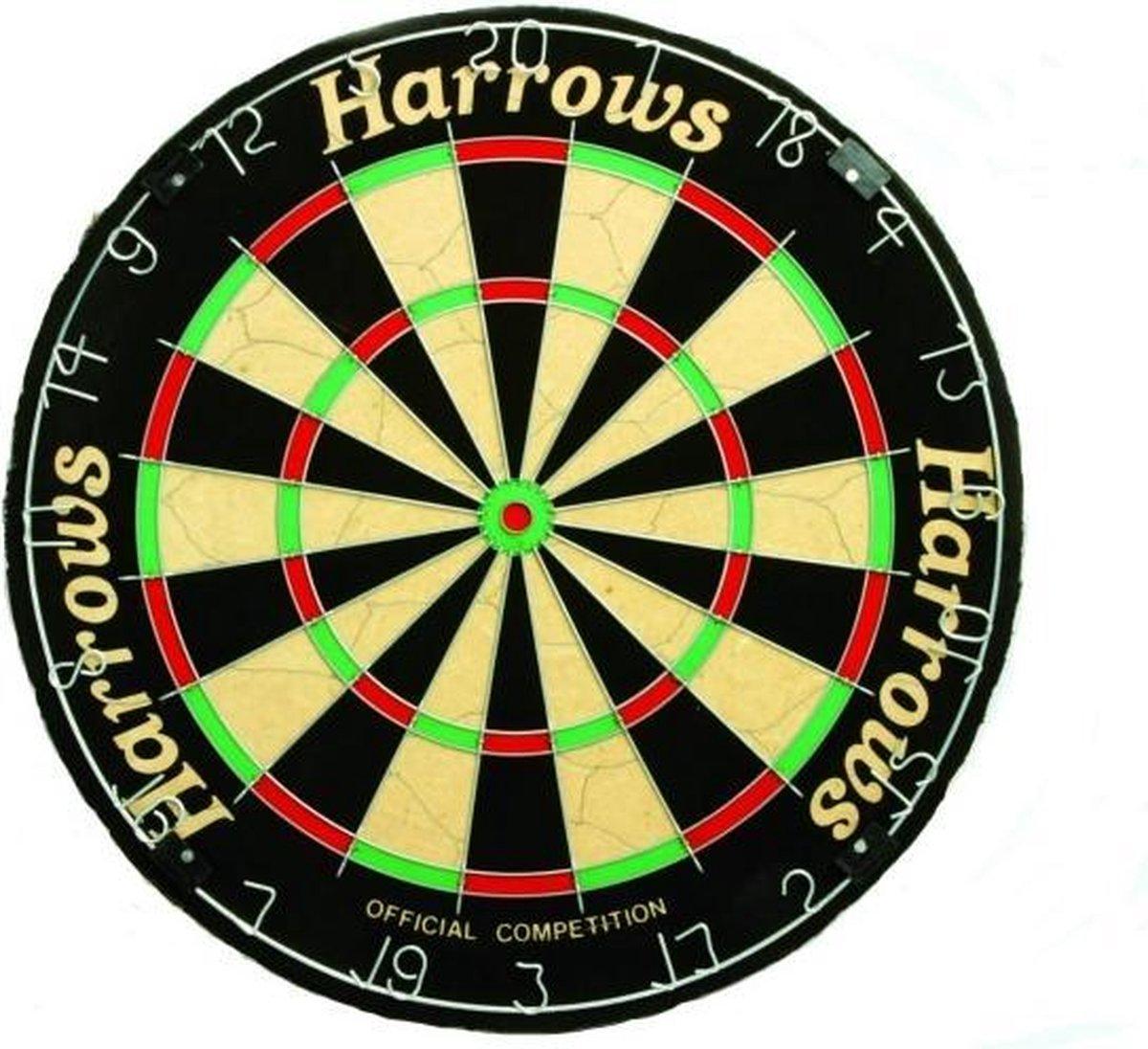 Harrows Darts Dartbord Official Competition