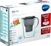 BRITA fill&enjoy Marella Cool Graphite Half Year Pack