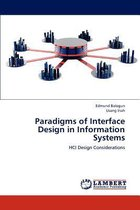 Paradigms of Interface Design in Information Systems