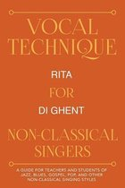 Vocal Technique for Non-Classical Singers