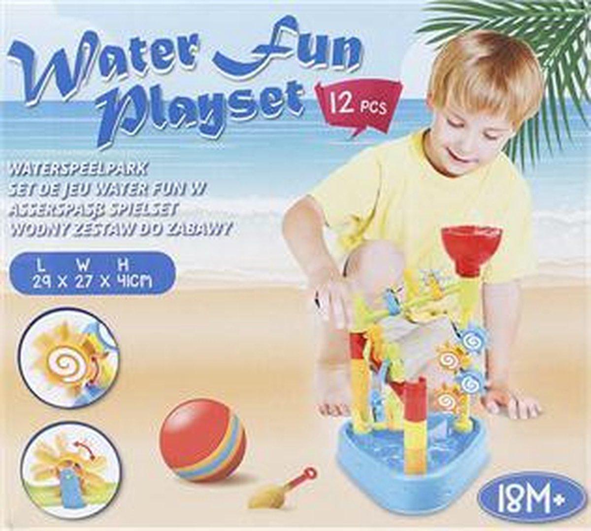 Waterspeelpark speelset (12 delig)