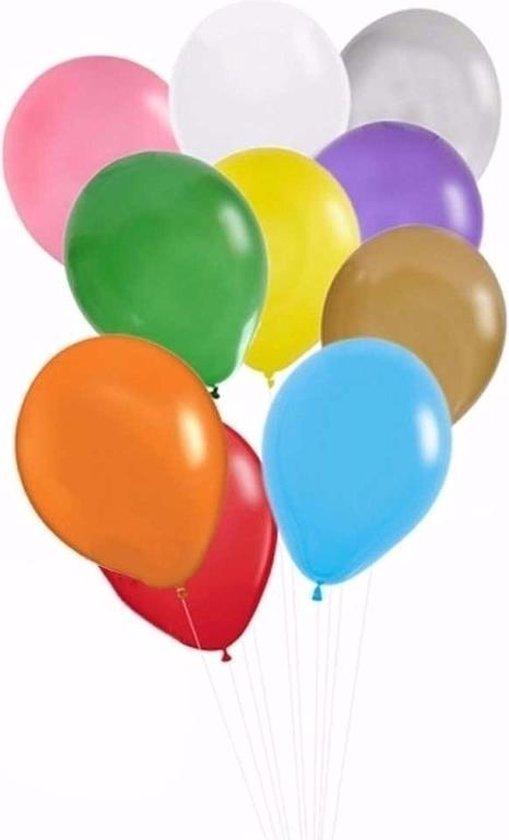 Gekleurde ballonnen 30 stuks - Shoppartners