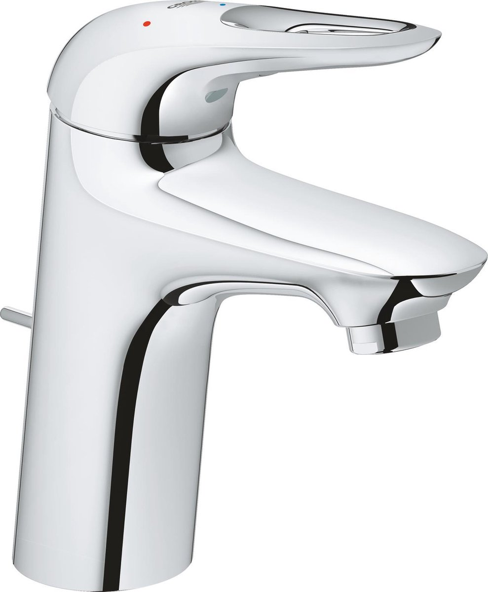 GROHE Eurostyle New Wastafelkraan - Medium uitloop - Met trek-waste