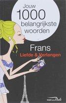 Boek cover Frans  / liefde en verlangen van Van Dale