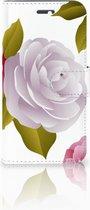 Huawei Honor 4A | Y6 Uniek Boekhoesje Roses