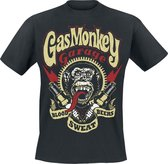 Gas Monkey Blood Sweat And Bears Red Heren T-shirt M