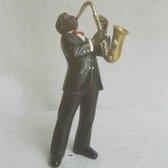 Beeldje All That Jazz saxofonist (saxofoon up)
