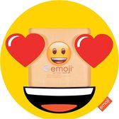 Innova Home Emoji Fotolijst - fotomaat 10x10 cm - Smiley Heart Eyes
