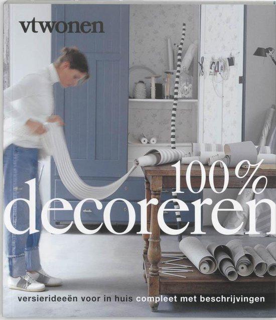 Cover van het boek '100 % decoreren'