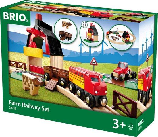 Afbeelding van BRIO Treinset met boerderij - 33719 speelgoed