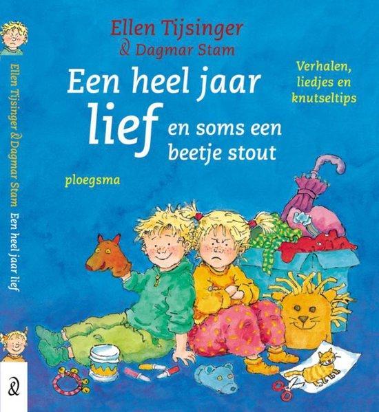 Boek cover Een Heel Jaar Lief van Ellen Tijsinger (Hardcover)