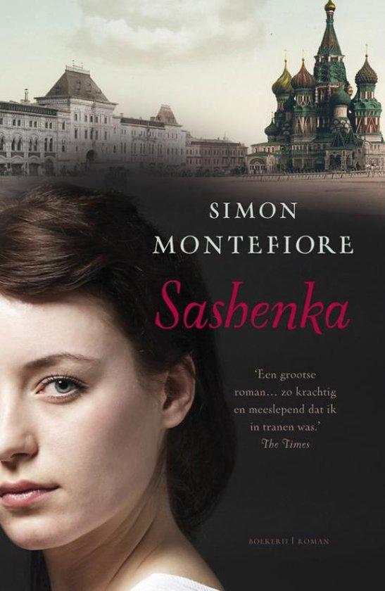 Boek cover Sashenka van Simon Sebag Montefiore
