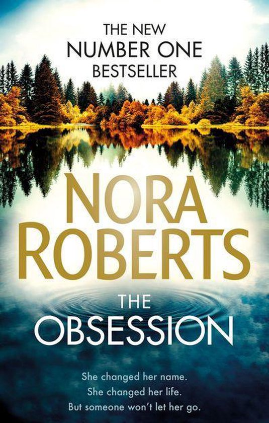 Boek cover The Obsession van Nora Roberts