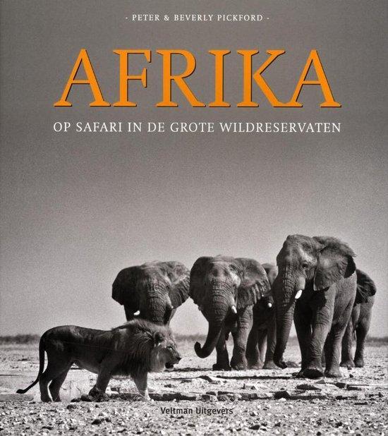 Cover van het boek ' Safari in Afrika' van P. Pickford