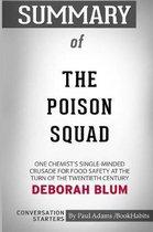Summary of The Poison Squad by Deborah Blum
