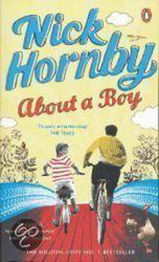Boek cover About a Boy (A Format) van N. Hornby (Voordeeleditie)