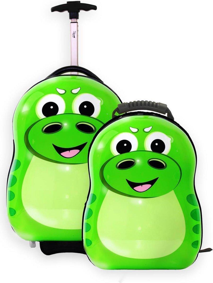 Cuties And Pals Trolley En Rugzak Rex De Dino - The Cuties and Pals