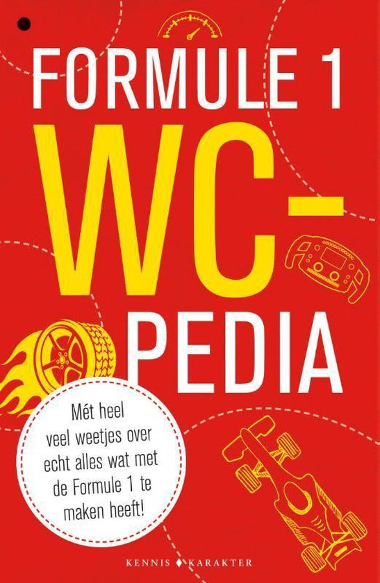 Boek cover Formule 1 WC-pedia van Andre Hoogeboom (Paperback)